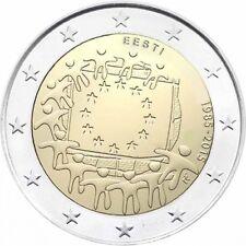 Estonia   2  euro   2015 Bandiera  FDC