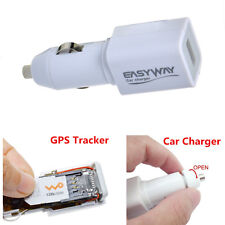 Portable Real Time Tracking Tool Car Cigarette Lighter Charger GPS Locator GPRS