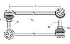 MOOG Travesaños/barras-estabilizador para TOYOTA RAV TO-LS-6581