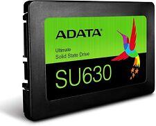 """ADATA 480GB SSD SU630 2.5"""" SATA III 3D NAND QLC Internal Solid State Drive 500GB"""