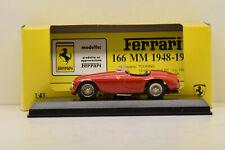 FERRARI 166 MM SPYDER STRADALE 1949 ART MODEL 1/43 NEUVE EN BOITE