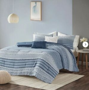 Safdie & Co. Luxury Set Comforter, King, Grey 7