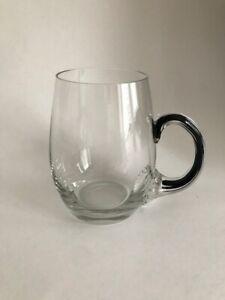 Vintage Belfor Exquisite Crystal Handled Beer Mugs Rare Hard to Find !