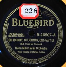 Glenn Miller Oh Johnny Marion Hutton 78 NM Bluebird 10507 Ciri-Biri-Bin Dance