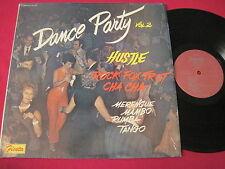 DANCE PARTY VOL 2 - MERENGUE MAMBO TANGO - FIESTA 1766 RARE LATIN ROCK LP NM