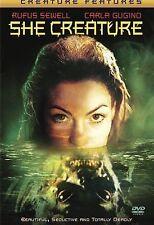She Creature (DVD 2002) VERY RARE MERMAID HORROR THRILLER CARLA GUGINO BRAND NEW