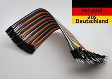 40 Pins GPIO Kabel Jumper Kabel 2.54mm M -> F 20cm , Raspberry Pi, Arduino