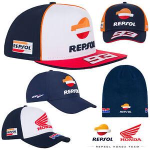New! 2020 Repsol Honda MotoGP Caps Marc Marquez Alex Official Team Merchandise