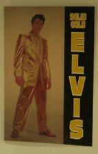 Elvis Presley Postcard Solid Gold Gold Lame Suit