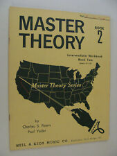 Master Theory Book 2 Intermediate Workbook lessons 31-60 Peters & Yoder 1964
