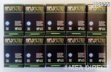 KTM SX-F 450 (2013 to 2015) HIFLOFILTRO FILTRO DE ACEITE (HF655) X Paquete De 10