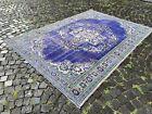 Oriental rug, Turkish rug, Vintage rug, Handmade, Large rug, Wool   6,2 x 8,6 ft
