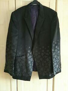 Carlo Pignatelli Vintage Italian Blac Blazer/ Jacket Smart Casual Size xxl eu 60