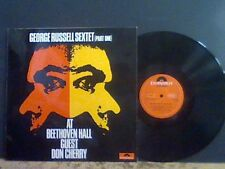 GEORGE RUSSELL SEXTET At Beethoven Hall Part one   LP  Don Cherry  Lovely copy !