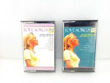 LOVE SONGS CASSETTE TAPES VARIOUS ARTISTS 2 X TAPES *FREE UK SHIPPING