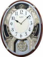 Rhythm Clocks Chateau Musical Motion Clock 4MH865WD23