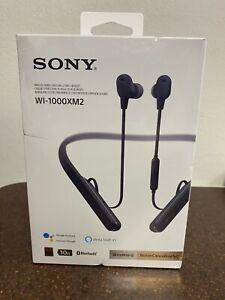 Sony WI-1000XM2 Wireless Noise Cancelling In-Ear Headset - Black