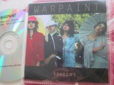 Warpaint – Shadows Label: Rough Trade Records Promo CD Single