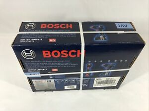 "Bosch GDX18V-1800CB15 1/4"" Hex & 1/2"" Square Drive Impact Driver"