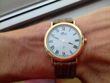 LOTUS 4728/2 VINTAGE COLLECTION (1981) NOS MONTRE GOLD SWISS MADE WATCH OROLOGIO
