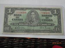 Canada $1 1937 Gordon Towers AU (396)