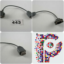 Amiga 9 pin male connector to 9 pin female connector