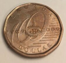 CANADA 1977 MONTREAL CANADIAN OLYMPIC SPORT GAMES RARE $1 DOLLAR EXPO COIN UNC
