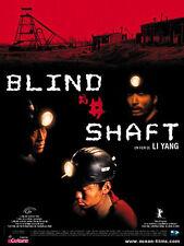 Affiche 40x60cm BLIND SHAFT (MANG JING) 2003 Li Yang - Li Yixiang NEUVE