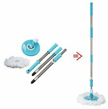 Spin Easy Mop Handle Pole Replacement-Suitable For Press Type Buckets For Floor