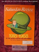 Saturday Review November 9 1968 HENRY STEELE COMMAGER