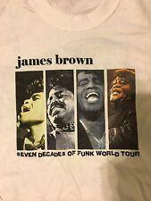 James Brown - 2003 Original - Seven Decades Of Funk - Tour T-Shirt -  Large