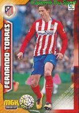 075 FERNANDO TORRES ESPANA ATLETICO CHELSEA.FC CARD MGK LIGA 2017 PANINI