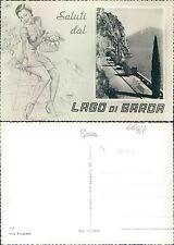 LAGO DI GARDA  - SALUTI   (rif.fg.6627)