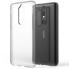 Nokia 5.1 (2018) Case by NALIA, Ultra Thin Soft Skin Silicone Mobile Phone Cover
