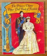 THE PRINCESS DIANA PAPER DOLL BOOK OF FASHION Clarissa Harlowe 1982 Uncut L1