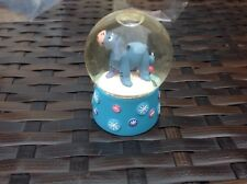 Disney Eeyore mini snowglobe made by bride sparks