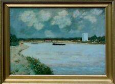 Moderne Kunst, Wandbild, Wim van Norden 1917-2001, Artprice, Am Kanal Albert xxx