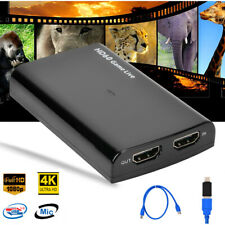 4K HD60 HDMI Video Capture Card USB 3.0 HD Recoder for Game/Video Live Streaming