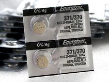 Energizer 370/371 Silver Oxide Batteries (SR920W, SR920SW), 2-PK, Free Shipping!