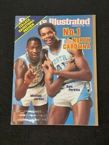 1983 Sports Illustrated College Basketball Preview Magazine Jordan Perkins Cover