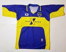 BOCA JUNIORS #10 Argentina Futbol Soccer Jersey Shirt Vtg CABJ 2004-2005 Medium