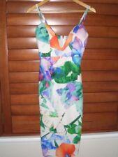 Blossom Polyester Stretch Dresses for Women