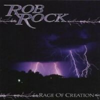 ROB ROCK - RAGE OF CREATION  CD NEU