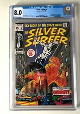 Silver Surfer 8 CGC 8.0