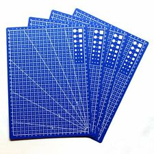 Fabric Leather Paper Board Craft Scale Plate Cutting Mat Grid Lines A4