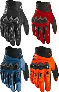 Fox Racing Bomber Glove Men's Street Gloves or Off Road Carbon Look Knuckle