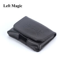 Leather Card Guard Playing Card Deck Carrier Case Magic Tricks Close-Up Prop New