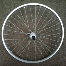 """Bicycle Rear Wheel 26x1.5"""" 5/6/7-Speed Freewheel 36H Quick Release Alloy Silver"""