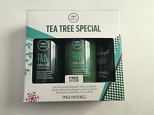 Paul Mitchell Tea Tree Special Shampoo, Conditioner 10.1 oz & Hold Gel 2.5 Oz