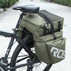 Roswheel Bicycle Rear Seat Bag 3 in1 Waterproof Cycling Travel Pannier Bag K4B6